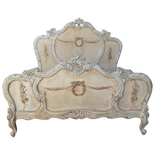 French Louis XV Style Bed Queen-Size