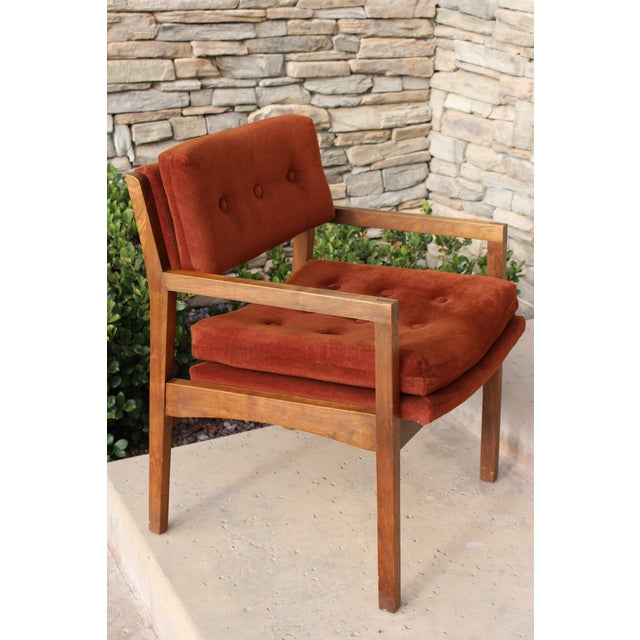Mid-Century Cube Chairs - A Pair - Image 10 of 11