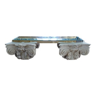 Modern Meets Classical Coffee Table