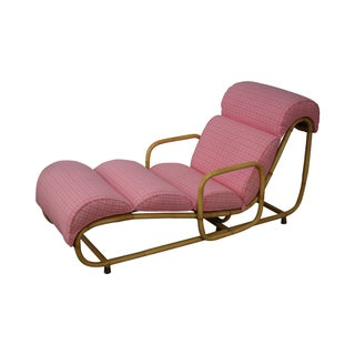 Willow & Reed Vintage Rattan Bamboo Chaise Lounge