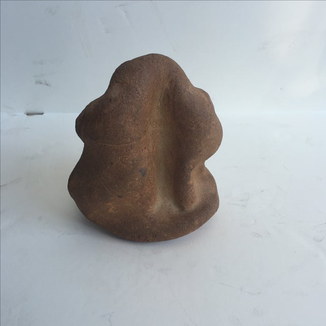 Terracotta Free-Form Sculpture - Image 5 of 9