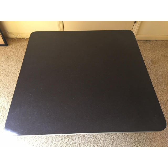 Mid-Century Modern Slate Top Coffee Table - Image 4 of 5