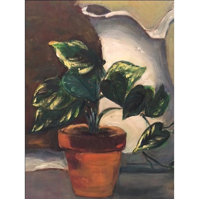Vintage Still Life Painting - Image 4 of 6