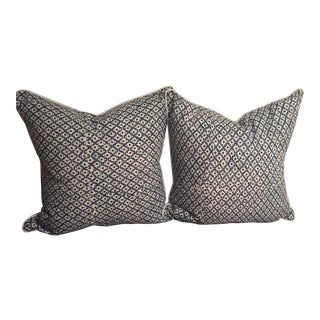 Galbraith & Paul Navy Pillow Covers - a Pair