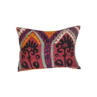 Purple Vine Suzani Pillow