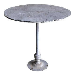 Shabby Chic Cast Iron Bistro Table