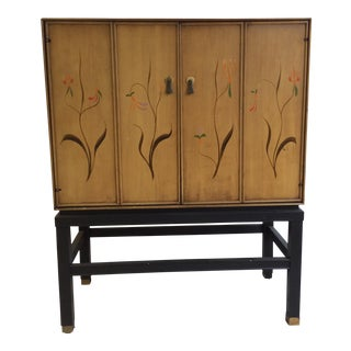 Chinoiserie Inspired Cocktail Cabinet