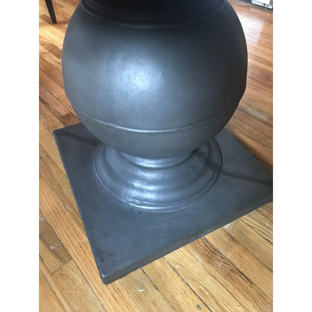 Grey Concrete Round Dining Table - Image 6 of 11