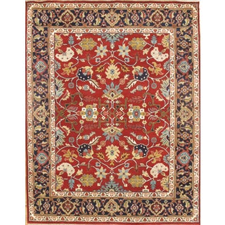 Pasargad Hand-Knotted Fine Mahal Rug - 8' X 10'
