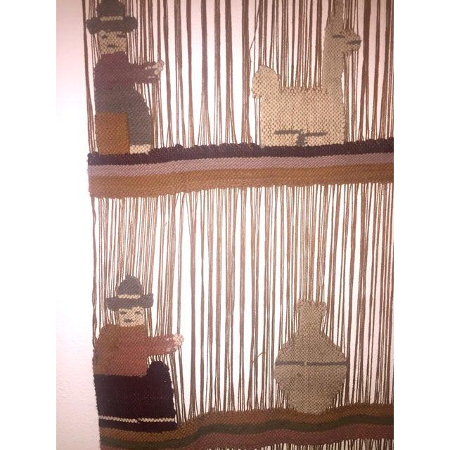 Vintage Peruvian Yarn & Wool Art - Image 3 of 6
