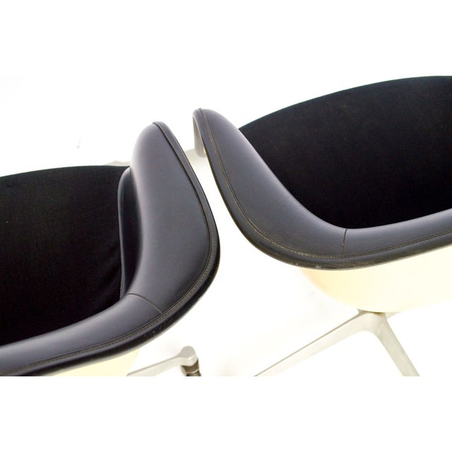 Image of Vintage Herman Miller Eames Shell Office Chairs