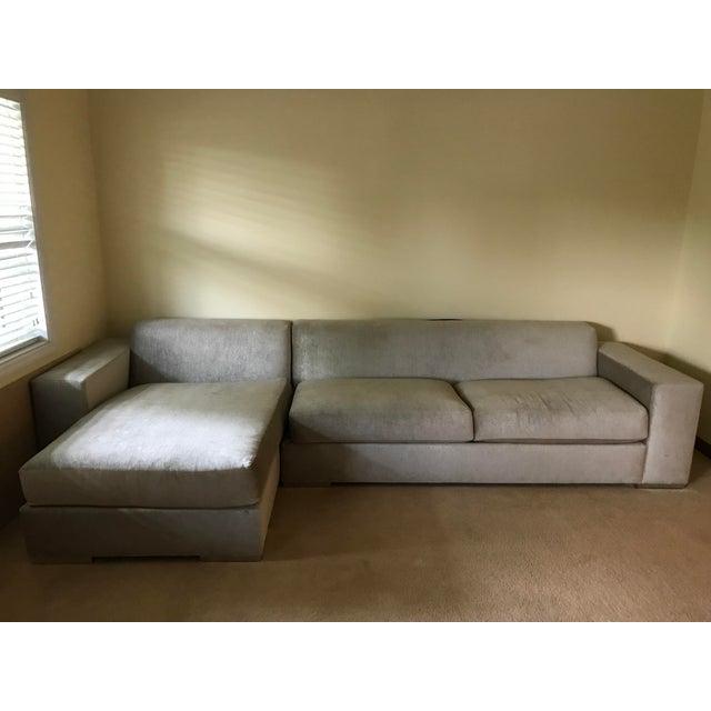 Silver Kravet Custom Sofa - Image 4 of 5