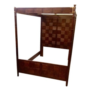 Asian Inspired Henredon Canopy Bed
