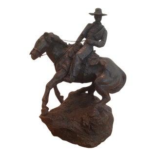 "1967 Thomas Holland ""Startled Horse"" Sculpture"