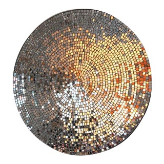 """Galla"" a mirror made of hand-cut mosaic"