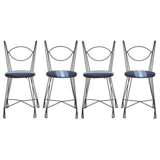 Tony Paul Bistro Chairs - Set of 4