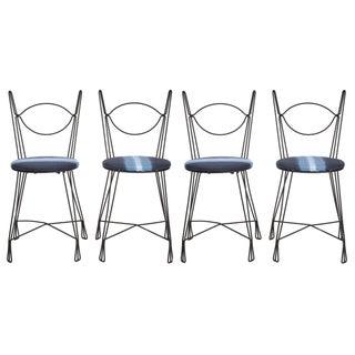 Tony Paul Bistro Chairs - Set of 4