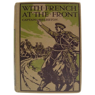 With French at the Front, 1915 Book