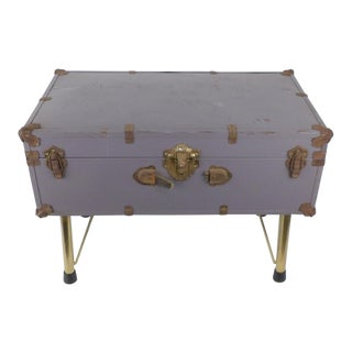 Purple Trunk Coffee Table