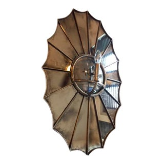Baker Nickel Webbed Sconce