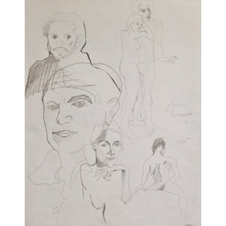 """Sketches From Picasso"" Drawing Study"