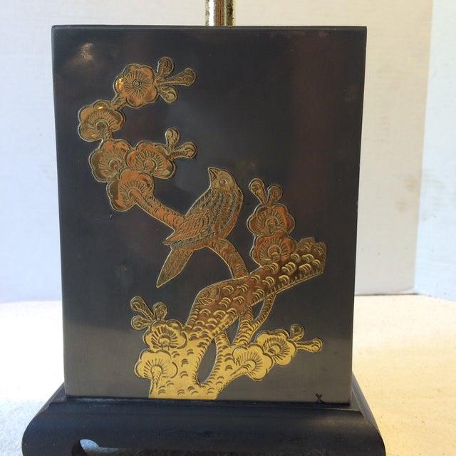 Mid-Century Fredrick Cooper-Style Asian Lamp - Image 7 of 11