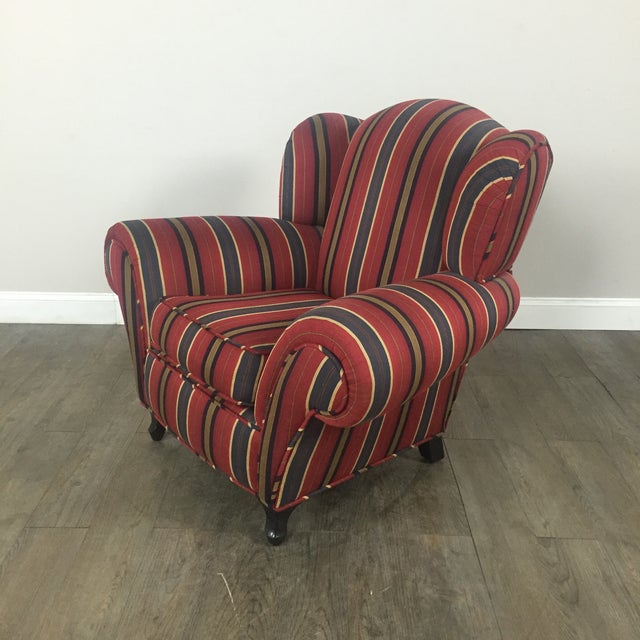Image of Kravet Club Chairs - A Pair