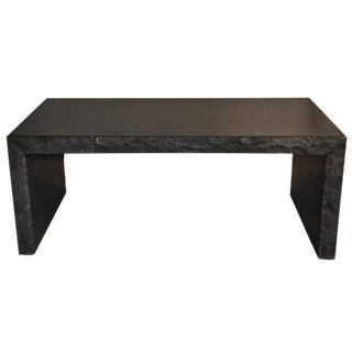 Michael Taylor (1927-1986) Custom Black Granite Desk