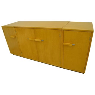 Eliel Saarinen Designed Credenza Sideboard of Blonde Maple, circa 1930s-1940s