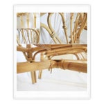 Image of Rattan Bamboo Chairs - A Pair