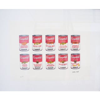 Andy Warhol Campbell's Soup Cans