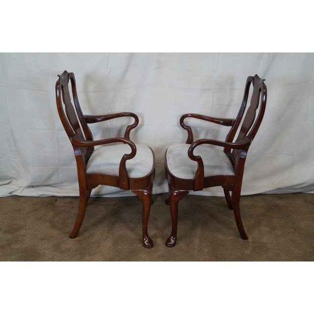 Hickory 18th Century Style Dining Chairs - S/6 - Image 3 of 10