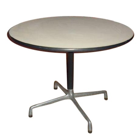 Original Vintage Eames Round Table - Image 1 of 3