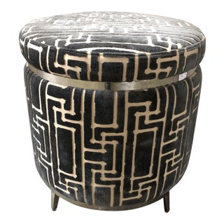 Selamat Designs Round Upholstered Ottoman