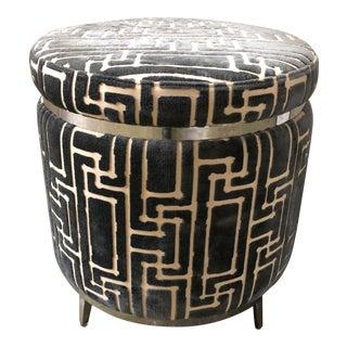 Selamat Designs Round Upholstered Ottoman