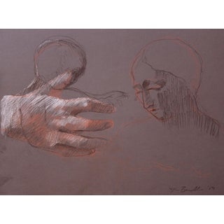 Sketch of Elizabeth With a Study of a Hand