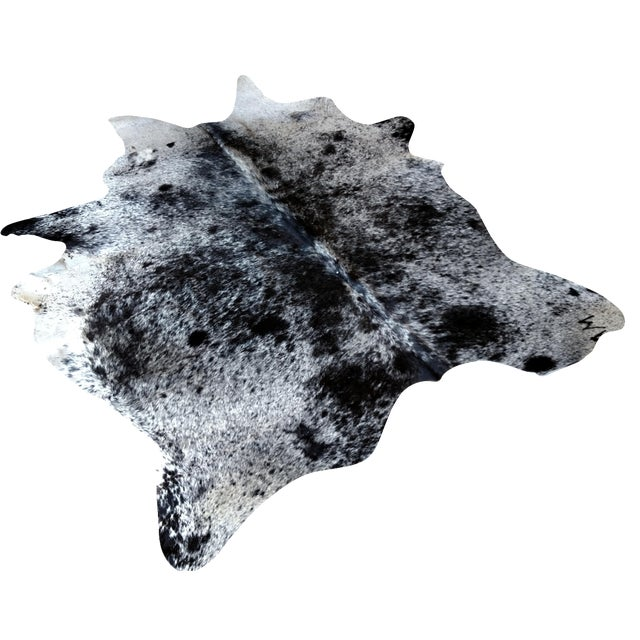Image of Gambrell Renard Speckled Cowhide - 5′6″ × 6′11″