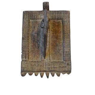Old Bwaba Burkina FasoBronze Amulet Pendant