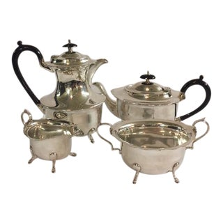 English Coffee or Tea Set - Set of 4