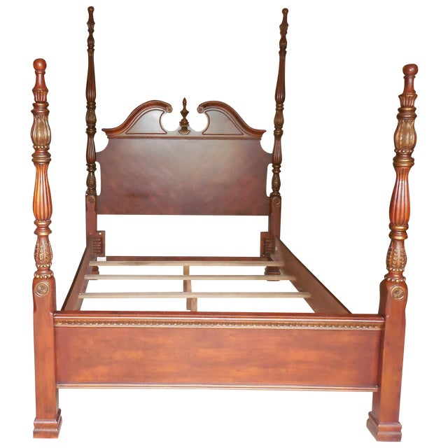 Four Poster Queen Bed Chairish