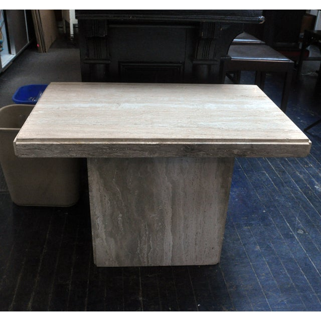Travertine Coffee Table - Image 6 of 6
