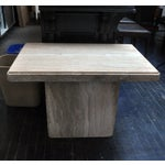 Image of Travertine Coffee Table