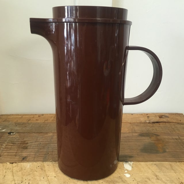 Image of Mid-Century Dansk Brown Molded Plastic Pitcher