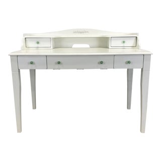 Elegant White Vanity Desk