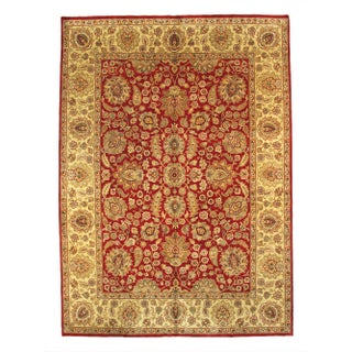 "Pasargad Jaipur Agra Wool Rug - 8'11"" X 12'4"""