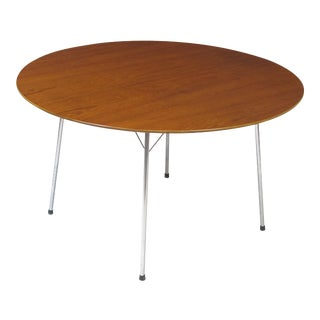 Arne Jacobsen Teak Ant Table for Fritz Hansen