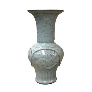 Ru Ware Celadon Crackle Vase
