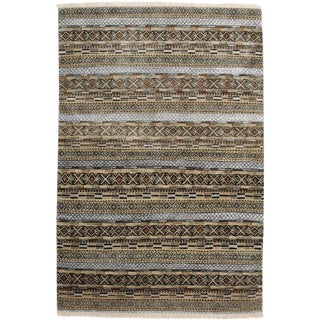 "Savannah, Hand Knotted Area Rug - 4' 1"" X 6' 1"""