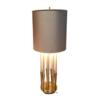 Hollywood Regency Tommi Parzinger Stiffel Brass Table Lamp