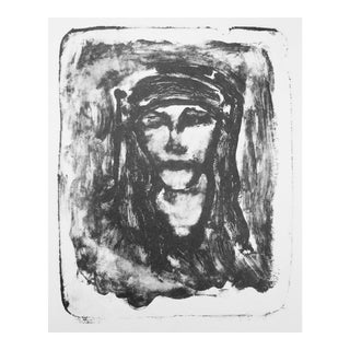 """""""Abstract Woman"""" Lithograph"""
